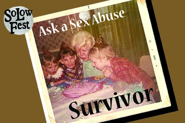 Ask a Sex Abuse Survivor – An Interactive One Man Show